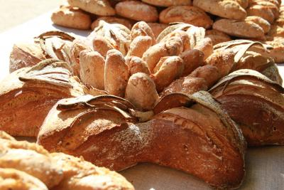 Tous les pains sont préparés à la boulangerie Luchier