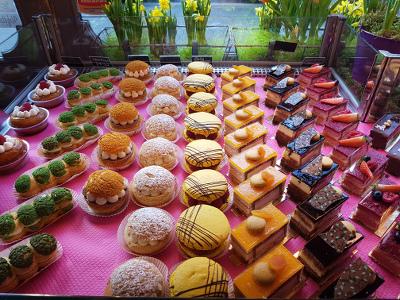 Pâtisseries fabriquées sur place